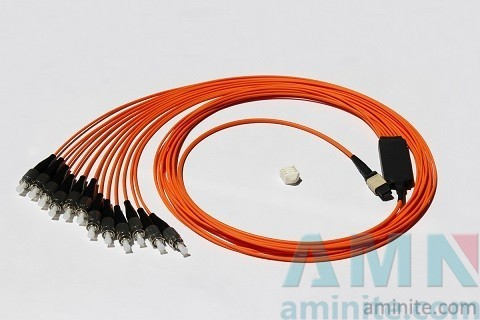 MPO Harness & Fanout Cable Assemblies Fiber Optic Connector