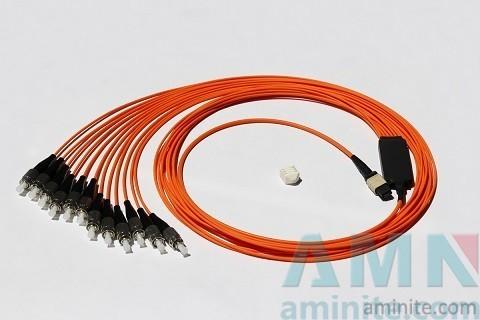 MPO Harness & Fanout Cable Assemblies Fiber Optic Connector