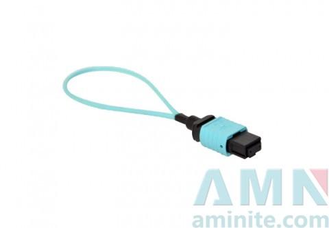 MPO Loopback Fiber Optic Connector