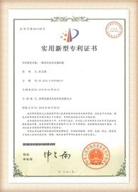 aminite fiber optical Patent certificate 1