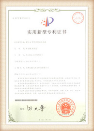 aminite fiber optical Patent certificate 9
