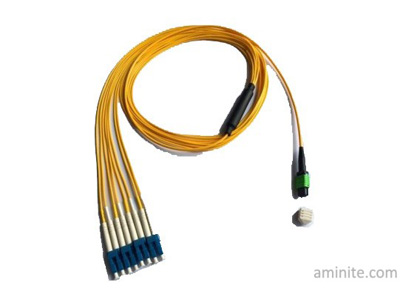 QSFP to SFP Optical Cables Fiber Optic Connector