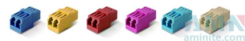 LC/APC to LC/APC Duplex Fiber Optic Adapter
