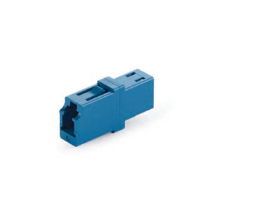 LC UPC to LC UPC Simplex Fiber Optic Adapter