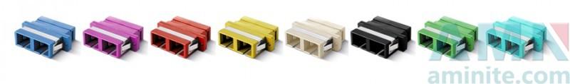SC/UPC to SC/UPC Duplex Fiber Optic Adapter