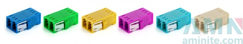 LC UPC Duplex Adapter