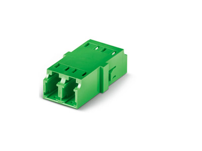 LC/APC Duplex Adapter unibody