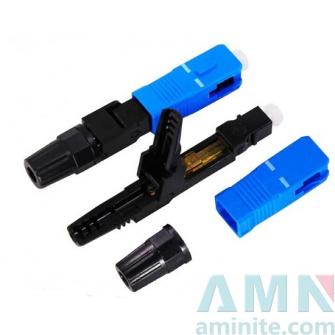 SC UPC Field Assembly Fiber Optic Fast Quick Connector