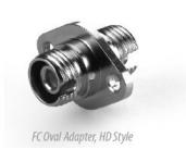 FC Oval Fiber Optic Adapter