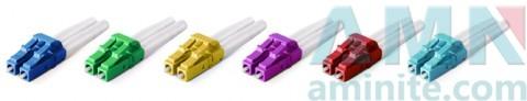 LC/UPC Duplexmm Single Mode Multimode Fiber Optic Connectors