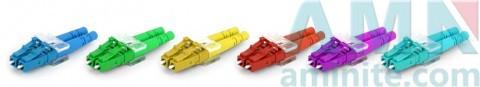 LC/UPC Duplex Single Mode Multimode Fiber Optic Connectors