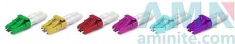 LC/UPC Duplex Single Mode Multimode Fiber Optic Connectors