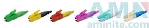 LC/UPC Single Mode Multimode Fiber Optic Connectors