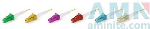 LC/UPC Unibody Boot 1.2mm Single Mode Multimode Fiber Optic Connectors