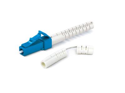 LC/UPC Unibody With Flex-Angle Boot Single Mode Multimode Fiber Optic Connectors