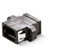 MPO Fiber Optic Adapter Plastic