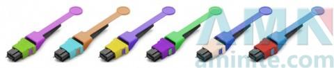 MPO-HD MM Male Single Multimode Fiber Optic Connector