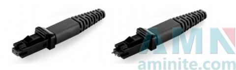 MTRJ Single Mode Multimode Fiber Optic Connector