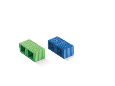 SC DUPLEX UNIVERSAL CLIP Fiber Optic Connector