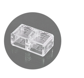 SC DUPLEX UNIVERSAL CLIP Fiber Optic Connector