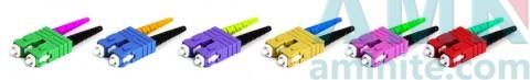 SC/PC DUPLEX MM Fiber Optic Connector