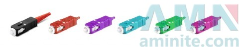 SC/PC MM Fiber Optic Connector