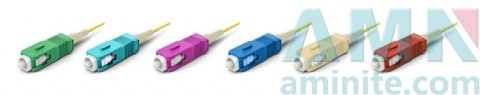 SC/UPC Boot 1.2mm Fiber Optic Connector